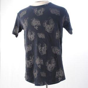 Pull&Bear Skull print t-shirt